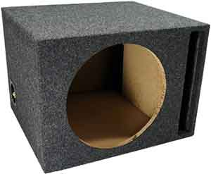 Car Audio Single 12 Vented Subwoofer