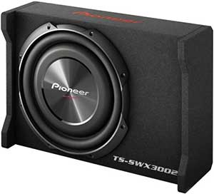 Pioneer TS-SWX3002 12 Shallow-Mount Pre-Loaded Enclosure